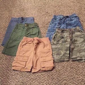 Lot of (5) Old Navy Boys Cargo Shorts